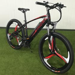 Электровелосипед на литых дисках