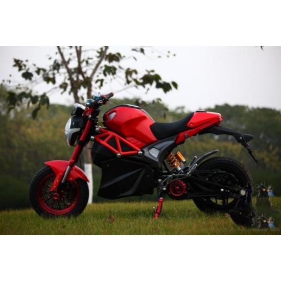 Электромотоцикл SpyRus Monster центральный мотор