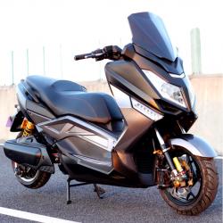Макси скутер электрический T9 SpyRus Maxi