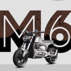 Электротомотоцикл SpyRus M6