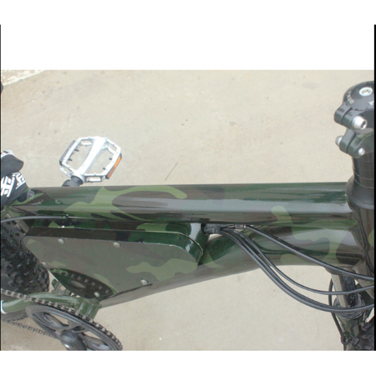 Камуфляжный электровелосипед army 350W